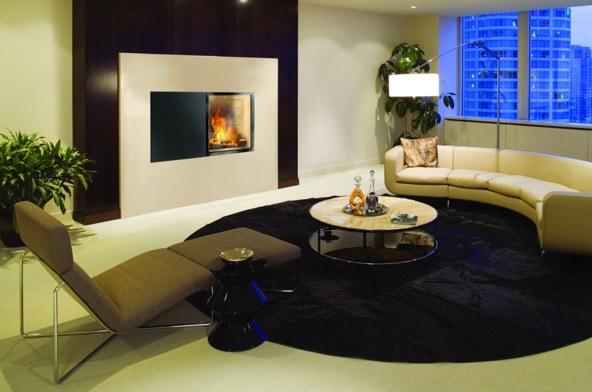 modern luxury living room penthouse condo